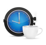 Time for coffee illustration design Stock Images