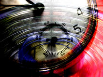 Time composite abstract of watch Stock Photos