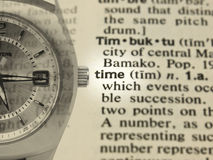 Time Concept Royalty Free Stock Photos
