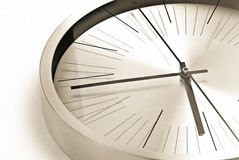 Time concept. Clock face close up - time concept Royalty Free Stock Photos