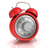 Time concept. 3D illustration of Time concept Royalty Free Stock Photos