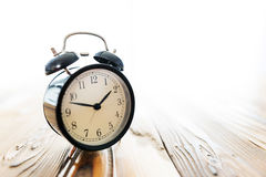 Time Concept With Alarm Clock Stock Photography