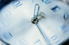 Time concept. Of clock with moving hour hand Stock Photo