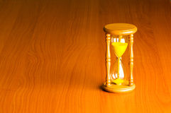 Time concept with hourglass Royalty Free Stock Image