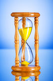 Time concept - hourglass Royalty Free Stock Image