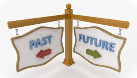 Time Concept Signpost Stock Image