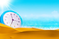 Time concept. Summer time. Royalty Free Stock Photos