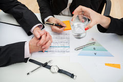 Time-consuming meeting Stock Images
