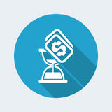 Time cost icon Royalty Free Stock Photo