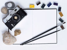 Time for creative impressions Stock Photography