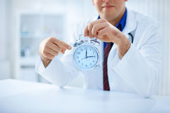 Time is crucial for your health Stock Images