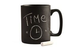 Time cup Stock Photography