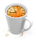 The time cup Royalty Free Stock Photos