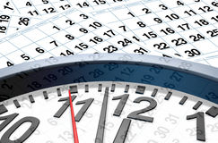 Time and date Royalty Free Stock Photography