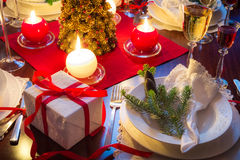 It is time for delicious Christmas food. In home Stock Photo
