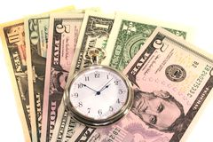 Time deposits Stock Images