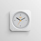 Time for design concept clock Stock Image