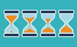 Time design,  illustration. Stock Photography