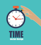 Time design Royalty Free Stock Photo