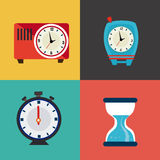 Time design Stock Images