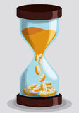Time design, vector illustration. Stock Photos