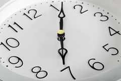 Time dial watch Royalty Free Stock Image