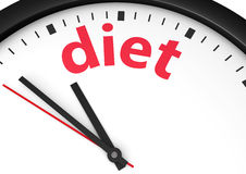 Time For Diet Concept Stock Image