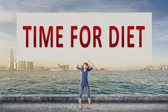 Time for diet Stock Photo