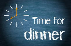 Time for Dinner Royalty Free Stock Image