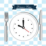 Time drawing Stock Image