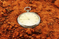 Time and earth stock photo