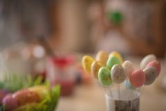 Time for Easter stock image