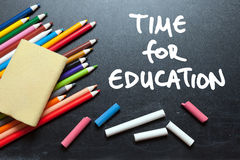 Time for education Royalty Free Stock Image