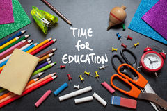Time for education Stock Images