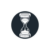 Time without end conceptual icon, web design element. 3d antique Royalty Free Stock Image