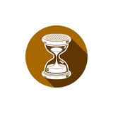 Time without end conceptual icon, web design element. 3d antique Royalty Free Stock Photography
