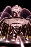 Time Exposure of Fountain Stock Photos