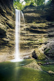 Time exposure waterfall Royalty Free Stock Photo