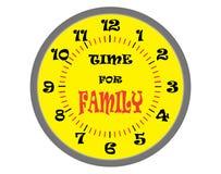 Time för familj Royaltyfria Bilder