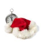 Time för jultomten Arkivbild