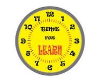 Time för lär Arkivbild