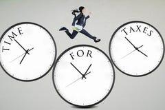 Time för skatter arkivfoton