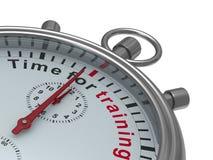 Time för utbildning white för stopwatch för bild för bakgrund 3d isolerad 3d il Arkivbild