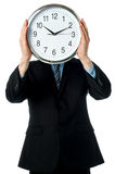 Time is the face of the business. Royalty Free Stock Image