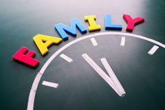 Time for family concept Stock Photos