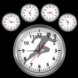 Time is fast and worth Royalty Free Stock Images
