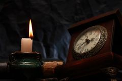 Time And Fire royalty free stock images