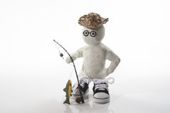 Time for Fishing Royalty Free Stock Photography