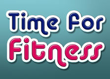 Time for Fitness Royalty Free Stock Photography