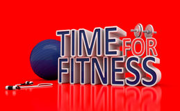 Time For Fitness. Royalty Free Stock Image
